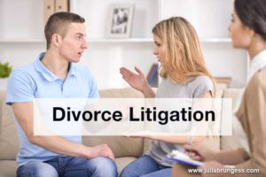 Couple Initiating Divorce Litigation