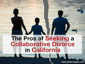 Seeking a Collaborative Divorce in California Title Image