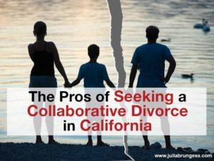 Seeking a Collaborative Divorce in California Title Image