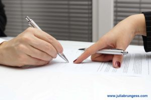 Couple Agreeing to a Collaborative Divorce