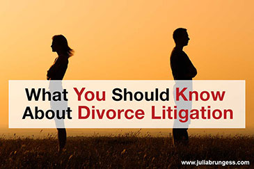 What You Should Know About Divorce Litigation