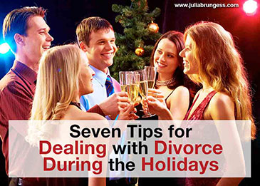 Seven Tips for Dealing with Divorce During the Holidays