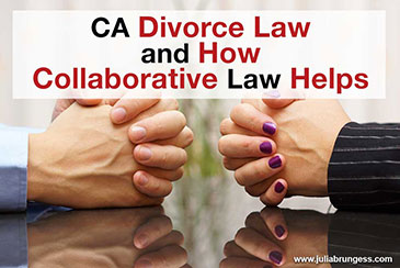 CA Divorce Law and How Collaborative Law Helps
