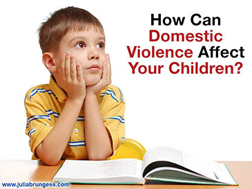 How Can Domestic Violence Affect Your Children?