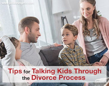 Tips for Talking Kids Through the Divorce Process