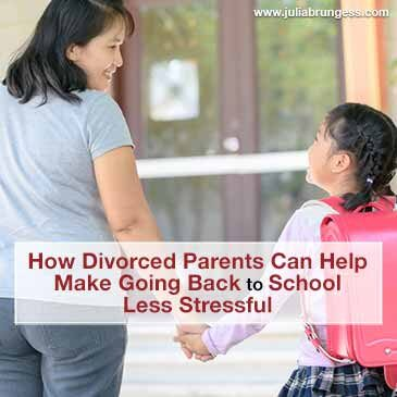 How Divorced Parents Can Help Make Going Back to School Less Stressful